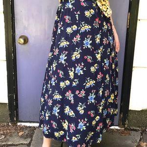 Vintage little flower boho skirt